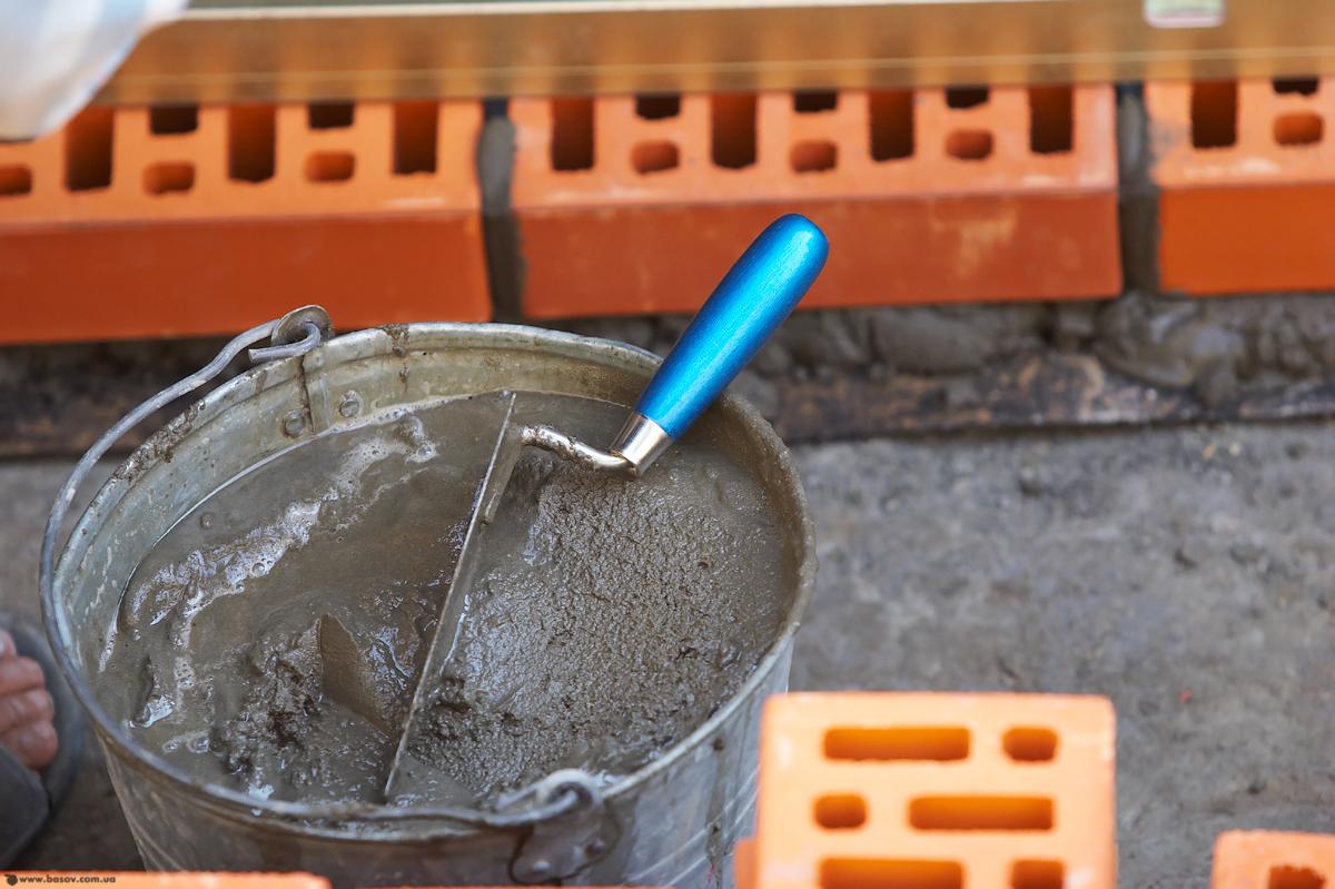 Как сделать смесь из цемента